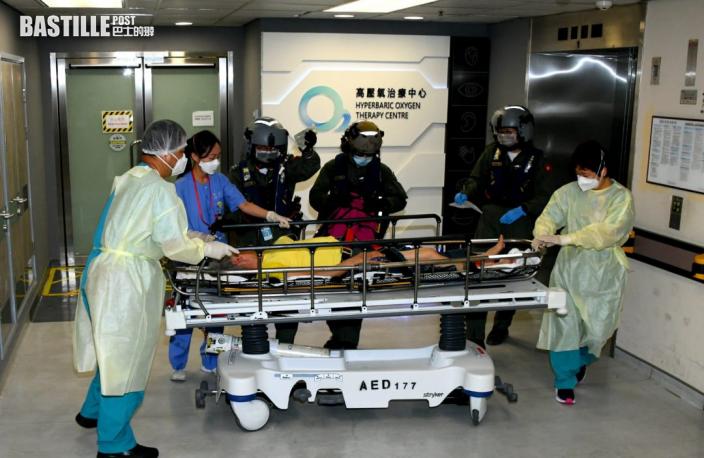 女子西貢嶂上行山跌傷 直升機送院治理