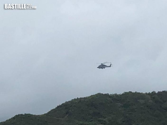 西貢廈門灣行山男感頭暈 半醒被直升機吊起送院