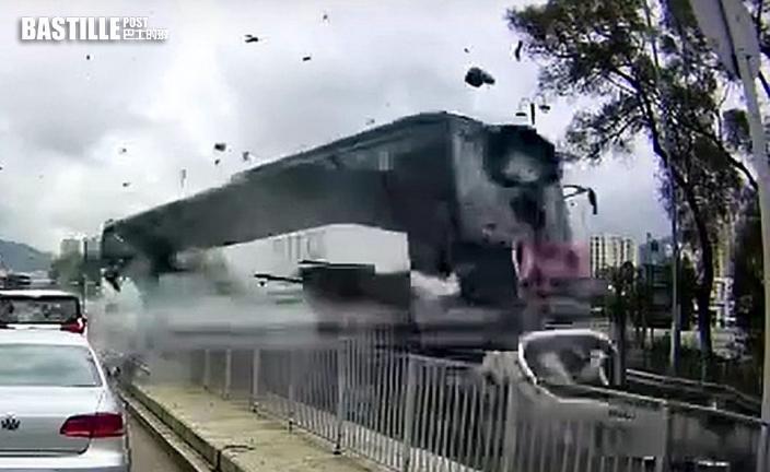 沙田大涌橋路車禍頻生 本月兩宗意外僅隔9日