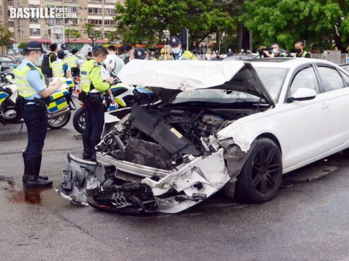 沙田大涌橋路意外釀1死8傷 33歲私家車女司機被捕