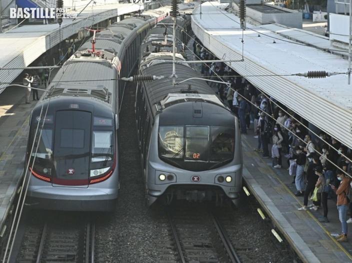 東鐵綫過海段新軌道接駁工程完成 港鐵將測試確保運作