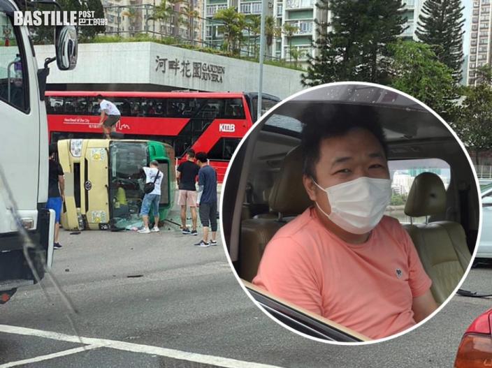 【沙田致命車禍】生死相隔7分鐘 救人司機哽咽自責