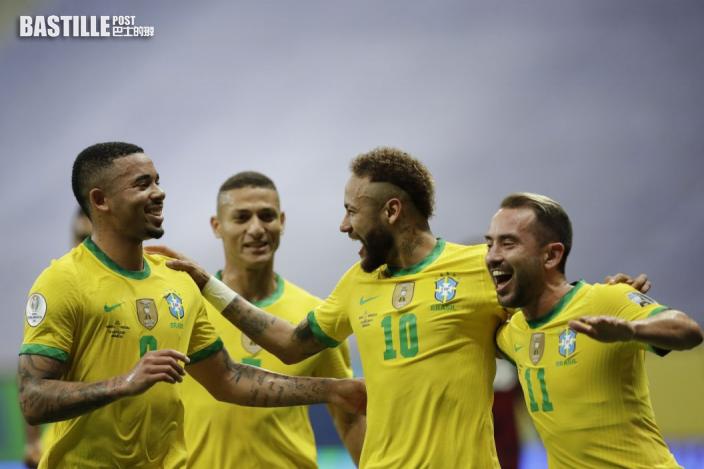 【美洲盃】尼馬一射一傳建功 巴西3:0挫委內瑞拉打響頭炮