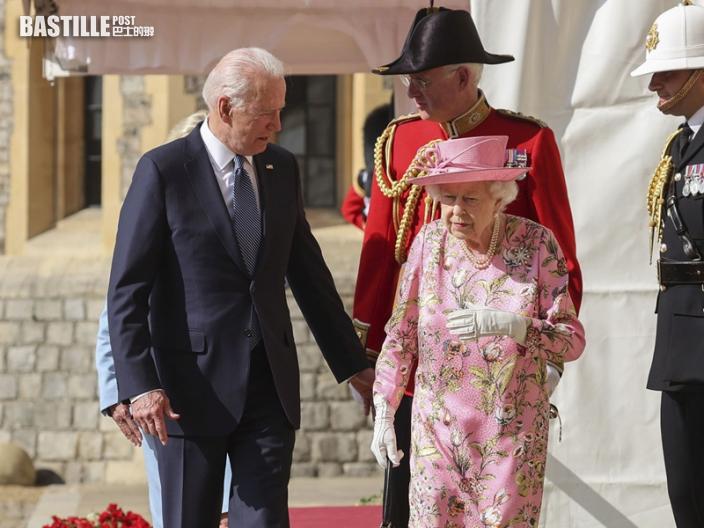 離英前訪溫莎堡 拜登:英女皇問及習近平和普京