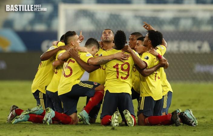 【美洲盃】卡當拿一箭定江山 哥倫比亞1:0厄瓜多爾