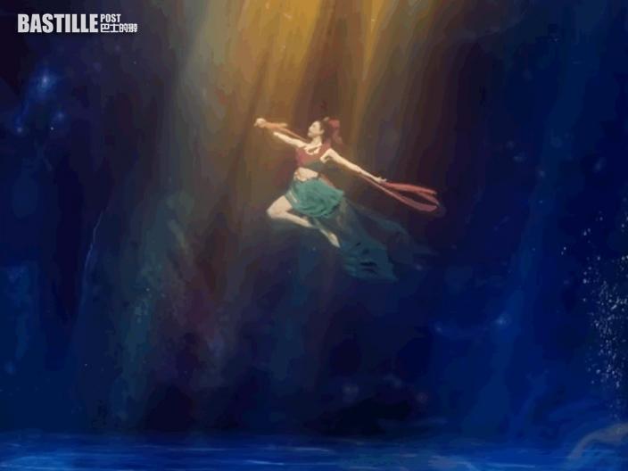 《祈》水中舞驚艷全國 舞者每日浸水8小時50秒換氣一次