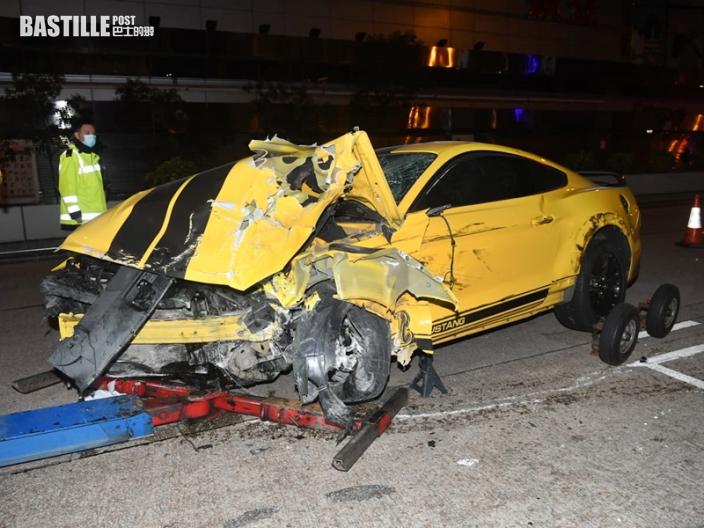油麻地「野馬」跑車乘客不治 31歲男司機涉危駕被捕