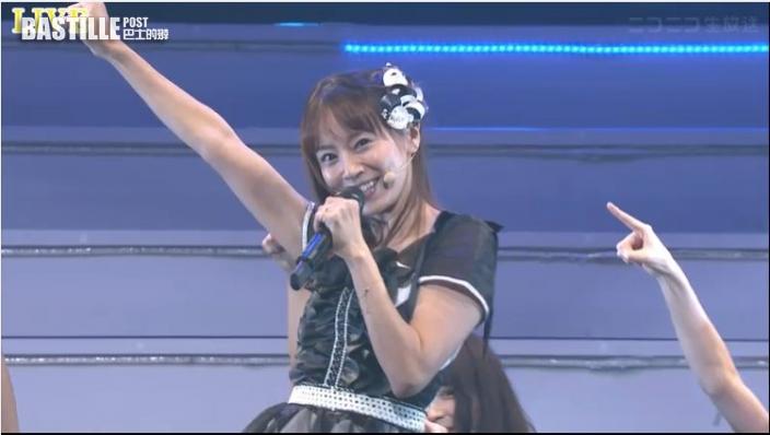 突現身任AKB48演唱會主唱   鈴木亞美喘晒氣自嘲應返歸湊仔