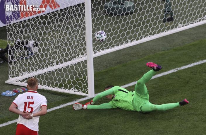 【歐國盃】今屆第一紅累全家  十人波蘭1:2負斯洛伐克