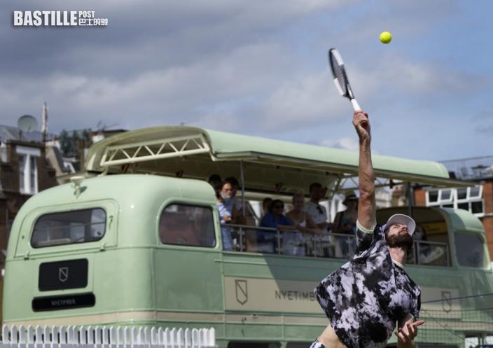 【網球】溫布頓決賽可容納四萬五千入球迷入座