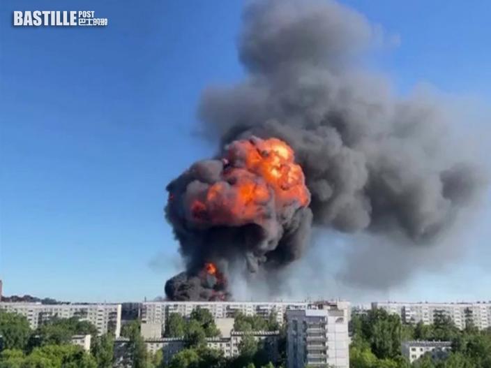 俄羅斯加油站爆炸現巨大蘑菇雲 至少25人傷