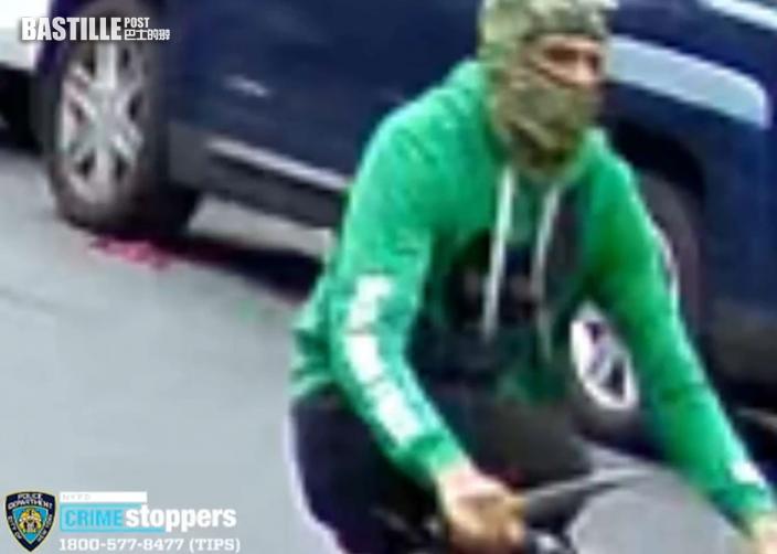 紐約亞裔外賣員被刺傷 警追緝涉案單車男