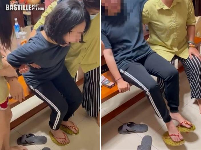 台人妻防疫在家自製榴槤拖鞋 網民:「血液循環還是血流如注」