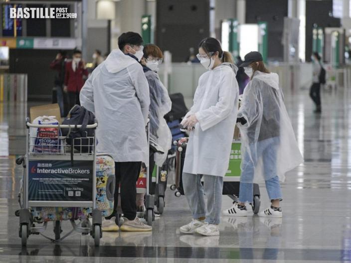 印尼來港人士完成檢疫須自行監察7日 第26天強制檢測