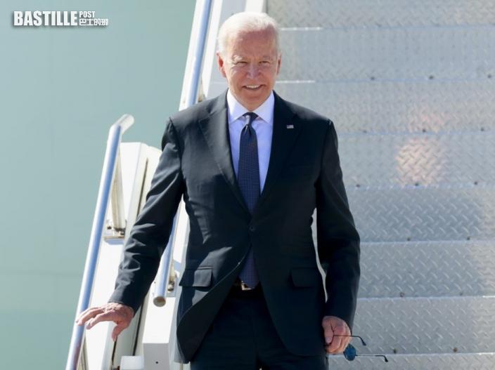 美國總統拜登抵日內瓦 報道指美俄峰會或歷時至少4小時