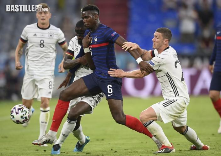 【歐國盃】堅尼評價 普巴踢法國隊表現勝曼聯