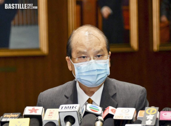 政務司長張建宗指正檢視法援制度 料第四季上旬有結果