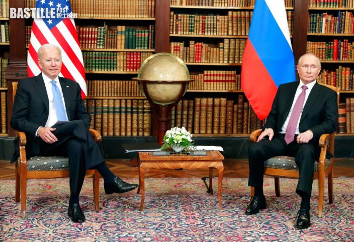 拜登上任後首次與普京會面 日内瓦會場氣氛肅殺