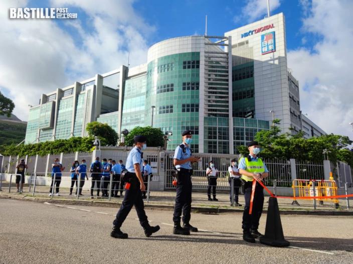消息指《蘋果日報》總編等五高層被捕 涉串謀勾結外國或境外勢力