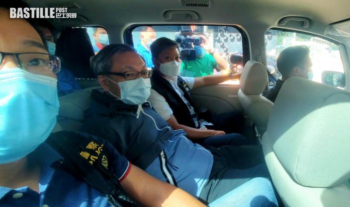 壹傳媒CEO等五董事被捕 涉串謀勾結外國或境外勢力
