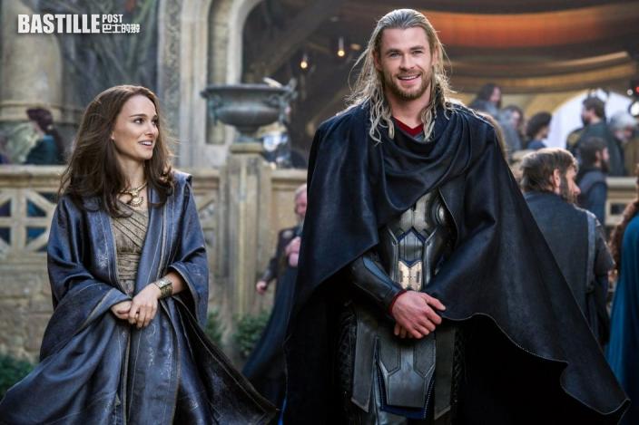 《Thor:Love and Thunder》官網上載T恤照       妮妲莉「女雷神」造型唔覺意曝光