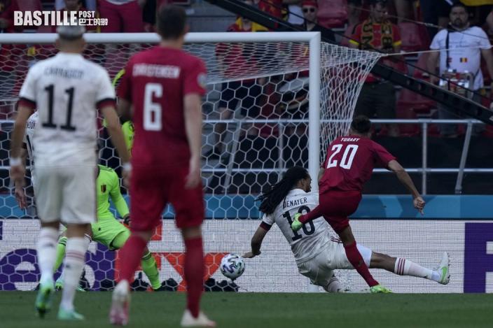 【歐國盃】迪布尼逆轉勝 比利時2:1搞禍丹麥溫情騷