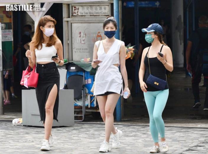 日間酷熱 最高33度