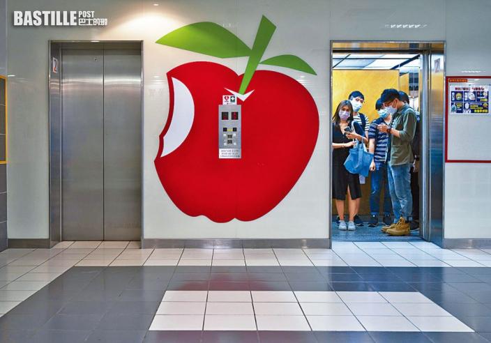 【壹傳媒案】《蘋果》員工屢現離職潮