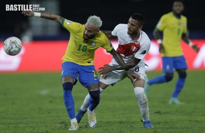 【美洲盃】尼馬連續兩場士哥 巴西4:0大炒秘魯