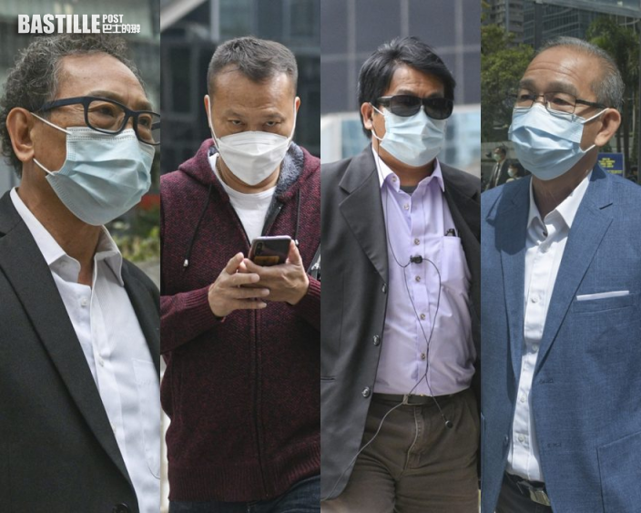 【721白衣人案】首被告王志榮無罪釋放 3被告撤銷擔保