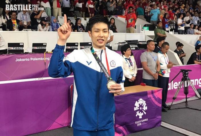 【東京奧運】中華台北羽球名將周天成 不聘教練獨闖奧運
