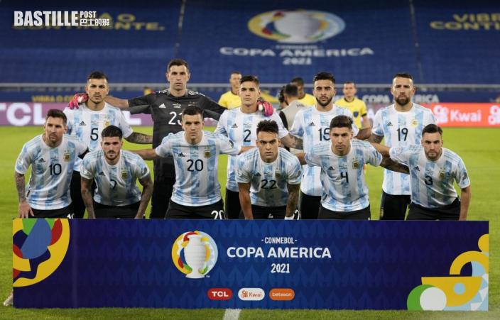 【美洲盃】阿根廷周六早上鬥烏拉圭 爭取小組第一走線避巴西