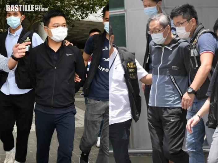 【壹傳媒案】消息指張劍虹及羅偉光將被起訴 涉違國安法明日提堂