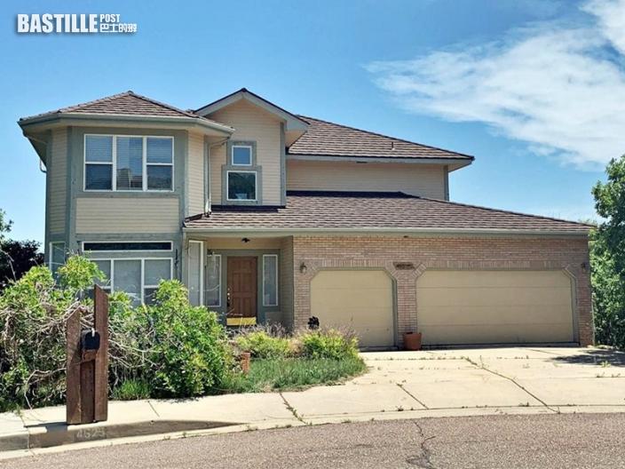 美科羅拉多州另類「豪宅」平價出售 全屋被噴黑漆兼發出惡臭