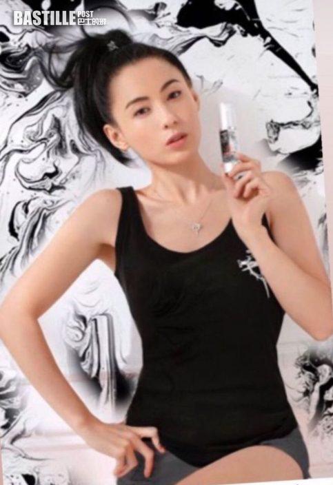 【索返晒】搣走贅肉拍自家服裝品牌廣告 張栢芝分享踼走「孕肚」良方