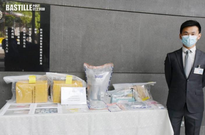 為搵快錢販毒住所淪毒品倉 警拘2青年檢1030萬元「K仔」