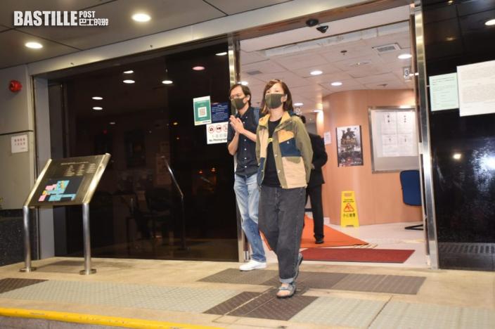 【壹傳媒案】《蘋果》副社長陳沛敏以及平台總監張志偉獲准保釋