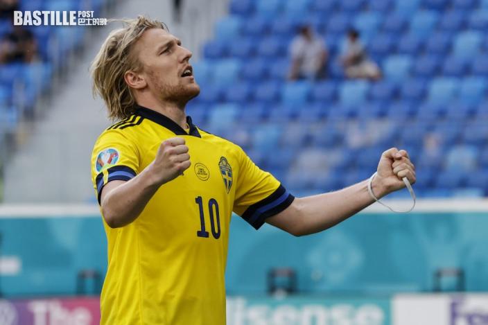 【歐國盃】龜縮變主攻 瑞典小勝晉級在望