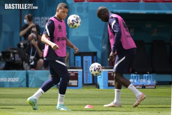【歐國盃】法國雙鋒修舊好 出綫「匈」有成竹