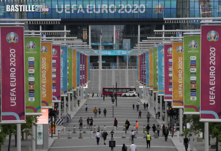 【歐國盃】英國疫情反覆 歐洲足協仍想在溫布萊辦決賽