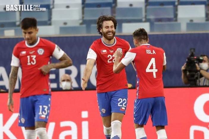 【美洲盃】比尼頓一箭定江山 智利一球小勝玻利維亞
