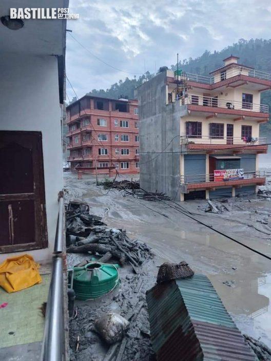 尼泊爾暴雨成災4死12傷 包括2中國工人遇難