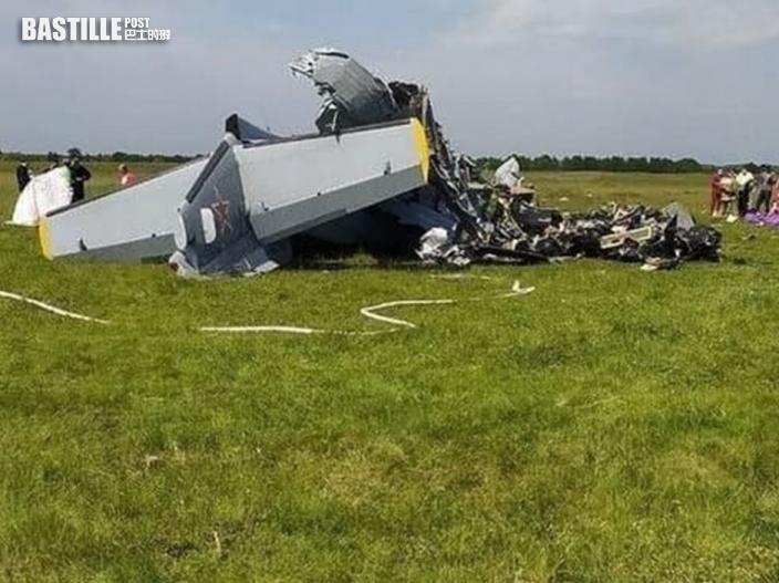 俄飛機引擎故障迫降墜毀 至少4死