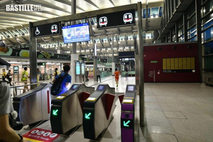 紅磡站屯馬線新月台啟用 鐵路迷等開站打卡
