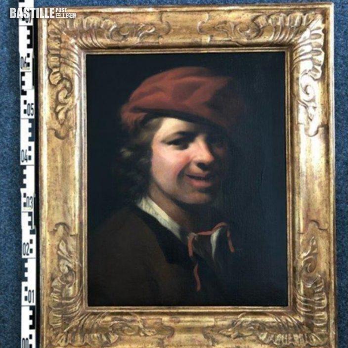 17世紀珍貴油畫 被棄德國高速公路垃圾桶