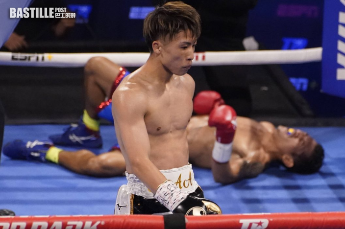 【拳擊】井上尚彌三回合KO對手 成功衛冕金腰帶