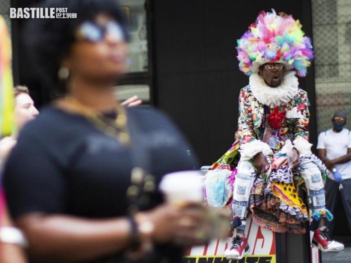 美國多處慶祝6月節 支持黑人平權
