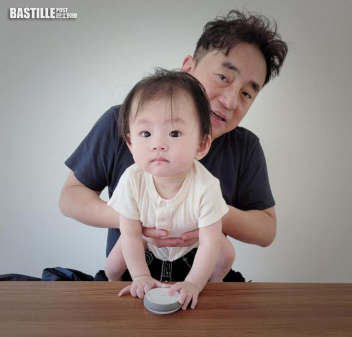 新手爹哋慶祝父親節 呂方等寶貝女叫一聲爸爸