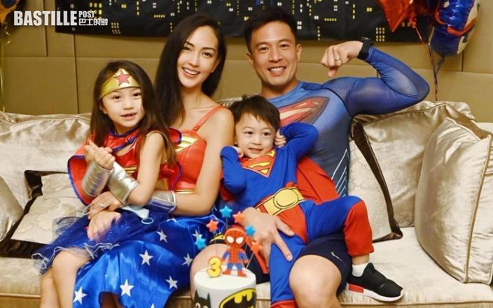 父親節兼囝囝3歲生日 Jessica C.讚安志杰是超級爸爸