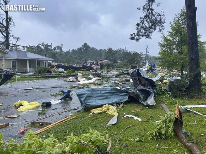 暴風雨侵襲亞拉巴馬州 多車連環相撞釀至少10死